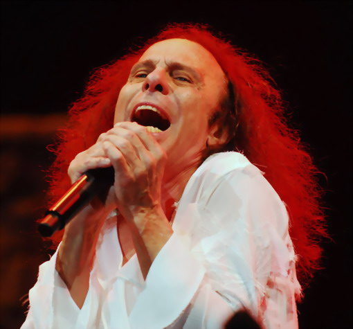 Ronnie James Dio. Рок группа Dio.