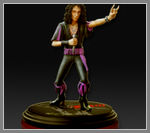 Минипамятник Ronnie James Dio.
