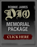 Memorial Package. Ronnie James Dio